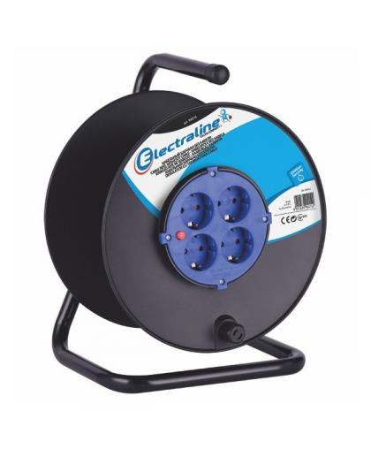 Кабельный барабан Electraline пластиковый без кабеля 94014