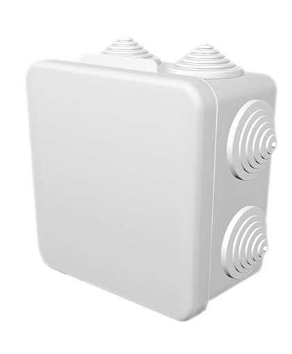 Коробка распределительная ETP КР 100*100*55 мм 8 входов белая