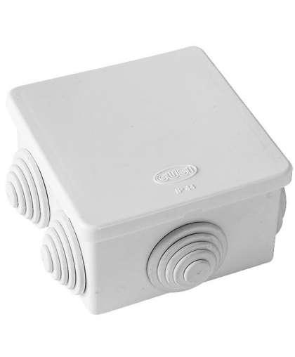 Коробка распределительная ETP КР 70*70*40 мм 6 входа (гермовводы) квадратная