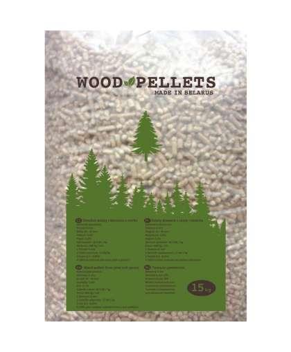 Гранулы древесные 15 кг