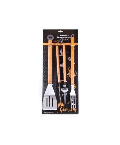 Набор инструментов для гриля Шашлычок арт 81830001a код 161171
