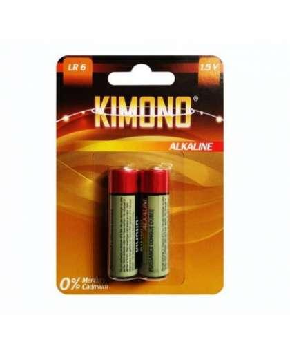 Батарейка Kimono LR6/BL2 АА Mignon алкалиновая