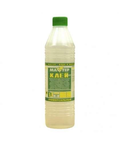 Kлeй Quality Супер-Мастер полимерный водо-морозостойкий прозрачный 1 л