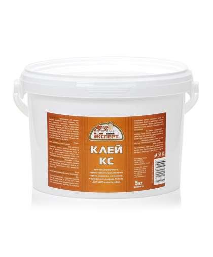 Клей Эксперт КС термостойкий 5 кг белый