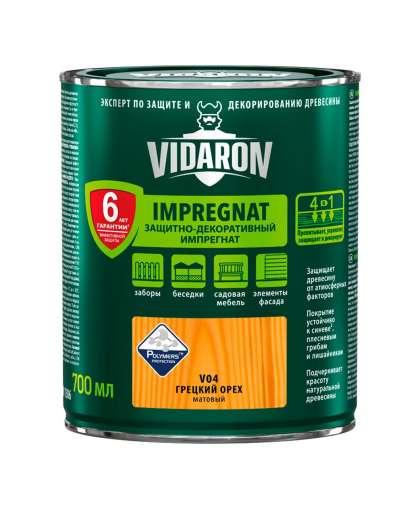 Пропитка Vidaron Impregnat для дерева 0.7 л V04 орех грецкий