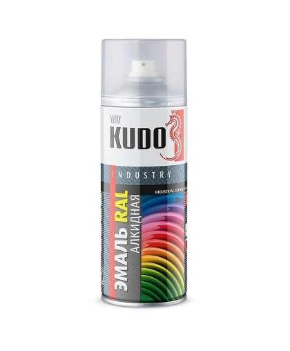 Эмаль универсальная Kudo KU-05002 RAL 5002 520 мл ультрамариново-синий