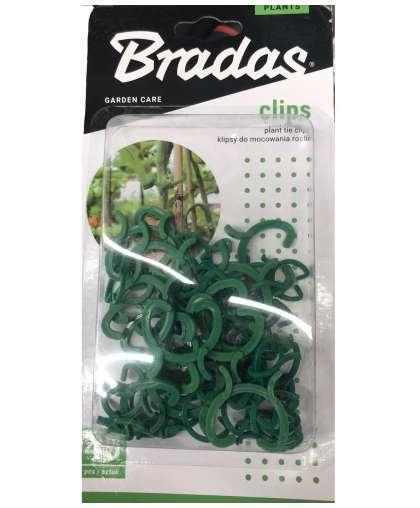 Клипсы для крепления растений Bradas ЗАЖ-1 3 размера 45шт