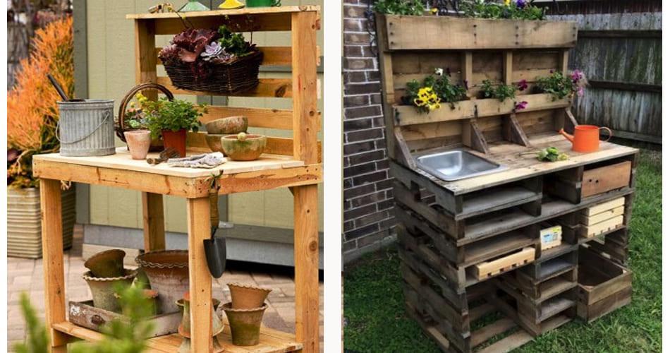 Стойки для садового инвентаря