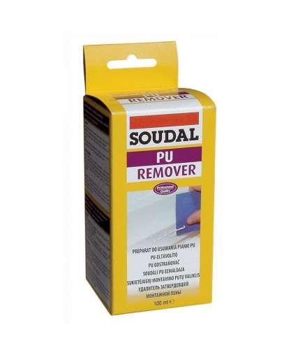 Удалитель затвердевшей полиуретановой пены PU Remover 100 мл, Soudal