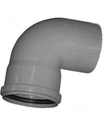 Отвод полипропиленовый для внутренней канализации 87 градусов 110 мм, Ostendorf