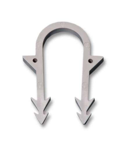 Крепление для металлопластиковой трубы (скоба якорная)16 мм, Полипласт-М