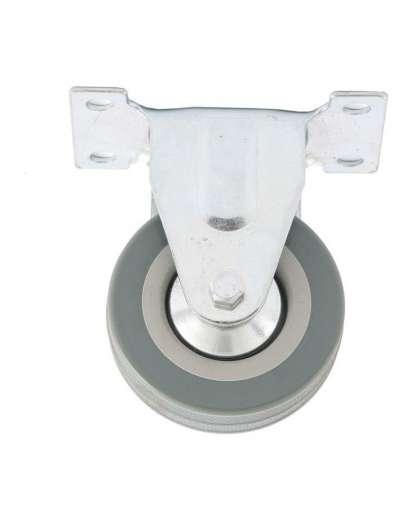 Колесо неповоротное d-50мм, крепление  платформенное // СИБРТЕХ 68707