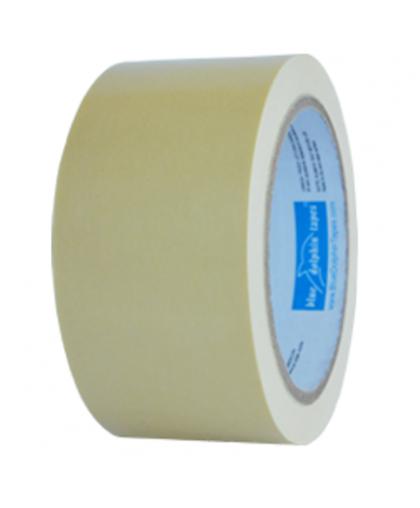 Лента малярная бумажная Premium 75мм*50м, Blue Dolphin