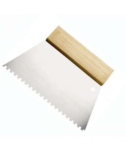Шпатель зубчатый 180мм В2 0825-661802, Hardy