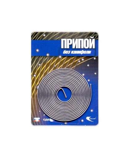 Припой ПОС-61 проволока, спираль ф1мм (длина 1м) 30323