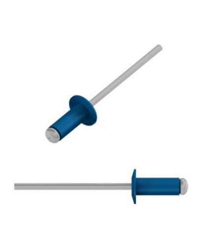 Заклепка вытяжная 4*10 мм алюминий-сталь, RAL 5005, SMZ1-89899-50, STARFIX