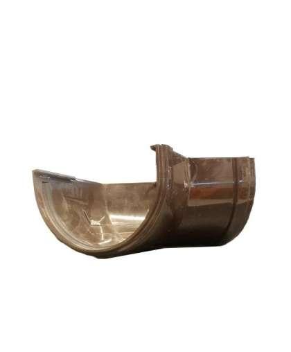 Угловой элемент 135 градусов шоколад 120 мм, Docke