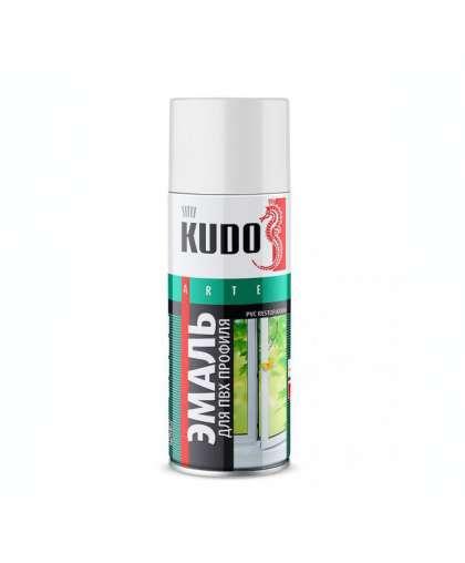 Эмаль KUDO для ПВХ профиля белая 520 мл KU-6101