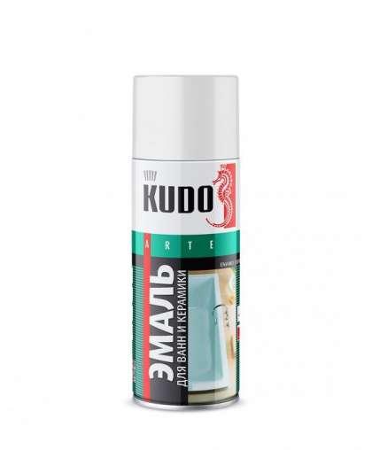 Эмаль KUDO для ванн и керамики белая 520 мл KU-1301