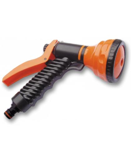 Разбрызгиватель-пистолет пластмассовый многофункциональный ECO-4441, Bradas