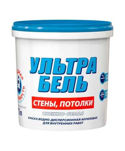 Краска Ultra Biel 1 л, Snezka