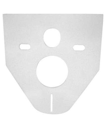 Звукоизоляционная плита для подвесного унитаза и для биде M91, AlcaPlast