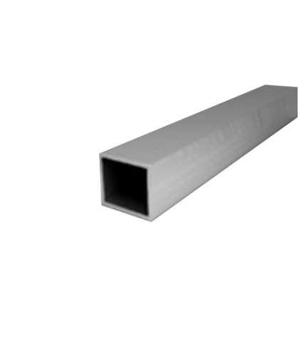 Алюминиевая труба прямоугольная 20*20*1,5 мм 2 м, ООО ПилотПро