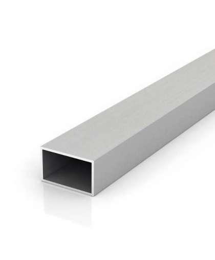 Алюминиевая труба прямоугольная 40*20*1,5 мм 2 м, ООО ПилотПро