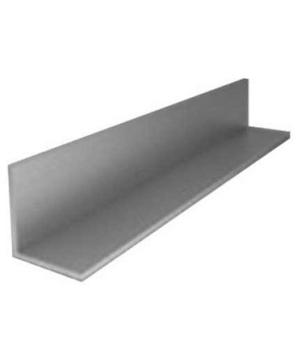 Алюминиевый уголок 20*10*1,2 мм серебро 2 м, ООО ПилотПро