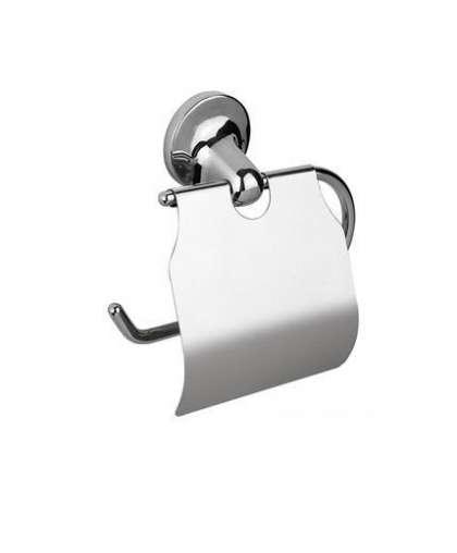 Держатель туалетной бумаги с крышкой ONTARIO, Bisk