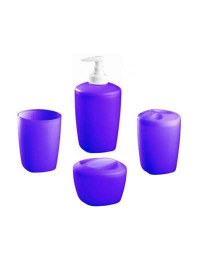 Набор аксессуаров для ванной комнаты Kaskada 02906 фиолетовый, Bisk