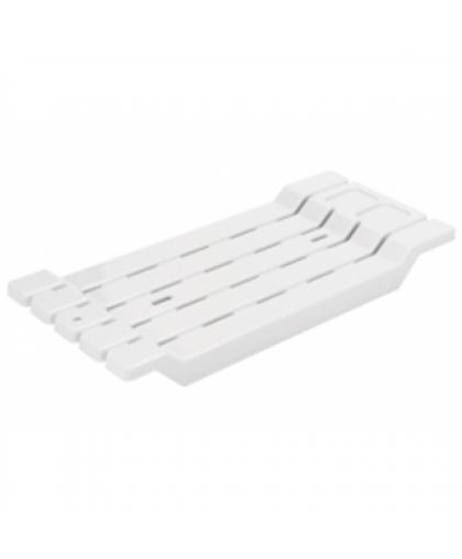 Сиденье для ванны нераздвижное АС12601000 белый, Berossi