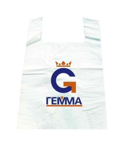 Пакет с логотипом 600*390*0,020 мм, Экстрополимерпак