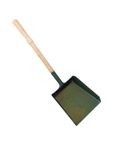 Совок для мусора металлический большой с деревянной ручкой, Форум-5М