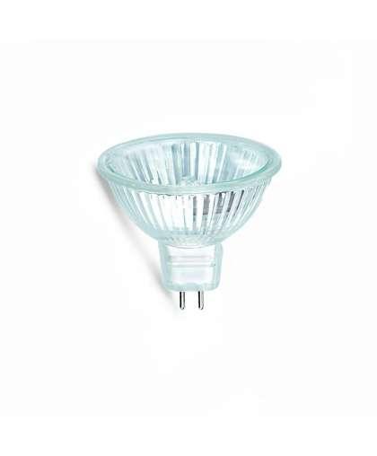 Лампа галогенная  GU5.3 MR16 12В 20W с отражателем и защитным стеклом, Акцент